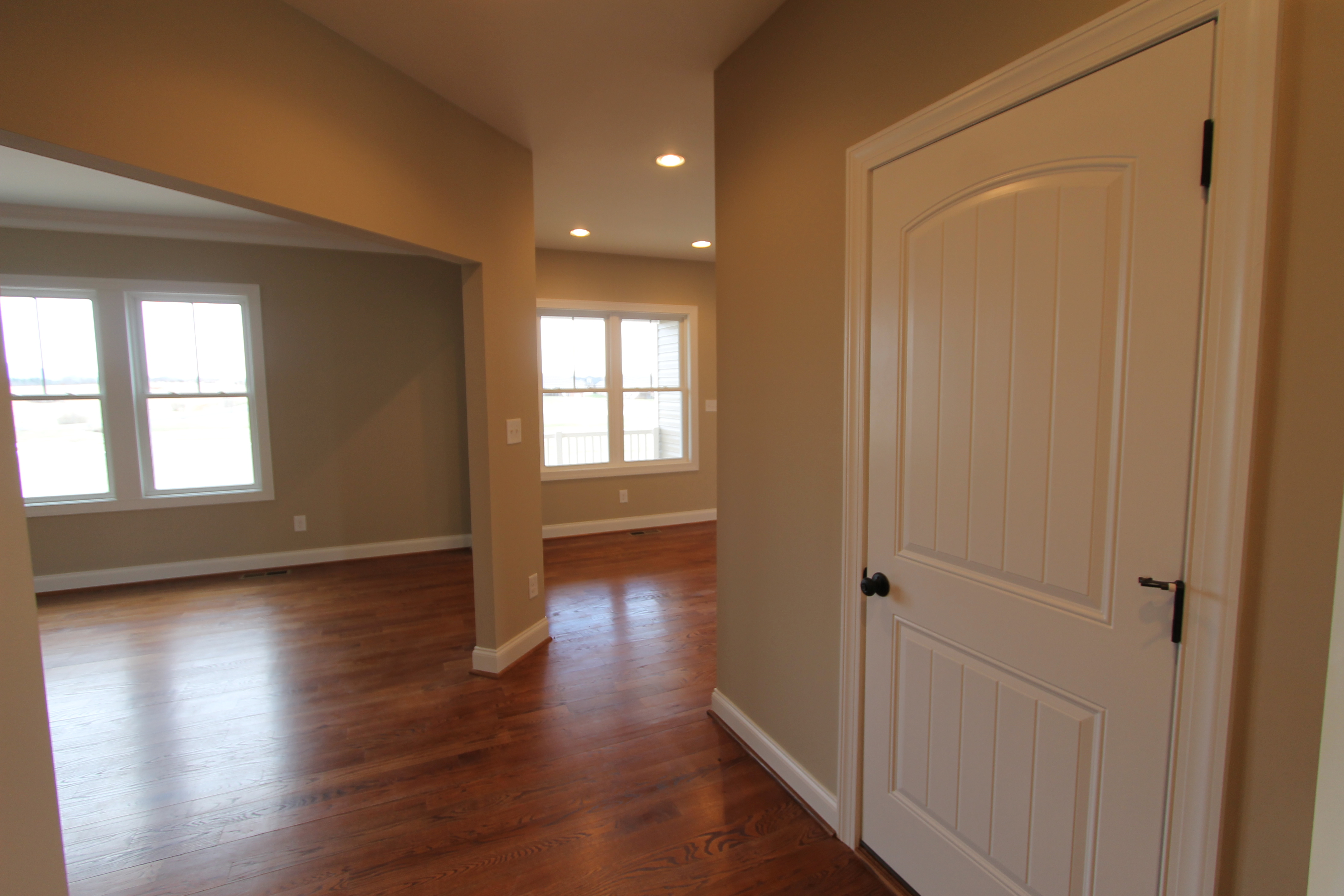Door to the huge and unfinished walkout basement boutrosinc for Walkout basement door options